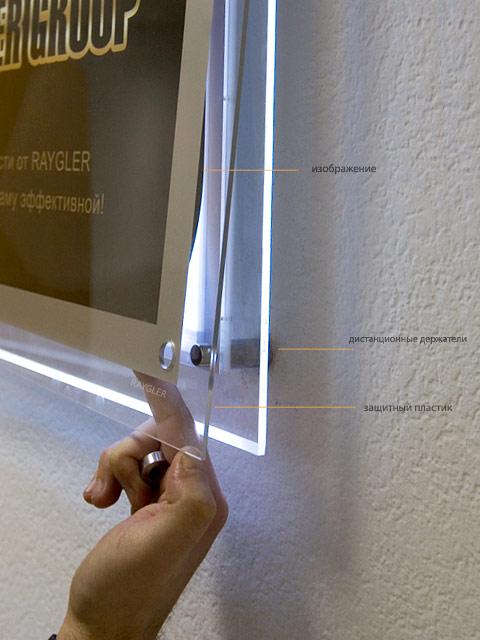 Как сделать световую панель